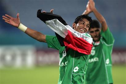 iraq soccer win