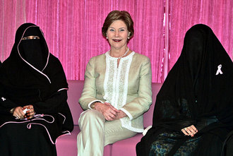 laura bush uncloaked