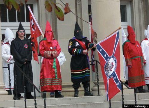 kkk ku klux klan rally ole miss 2009